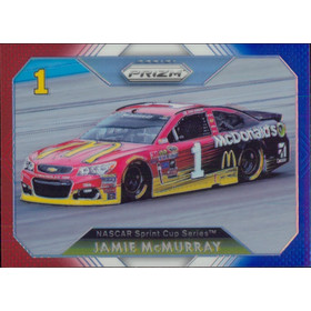 2016 Prizm - Jamie McMurray Red White & Blue #53