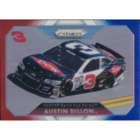 2016 Prizm - Austin Dillon Red White & Blue #50