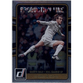 2016 Donruss Soccer - Gareth Bale Production Line #1
