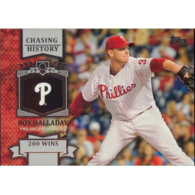 2013 Topps - Roy Halladay Chasing History #CH-86
