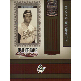 2005 Greats - Frank Robinson Hall of Fame Souvenirs #HOFS-15