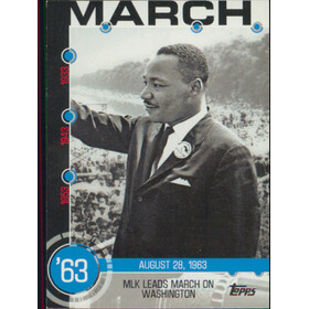 2015 Topps - MLK Leads March Baseball History #5A
