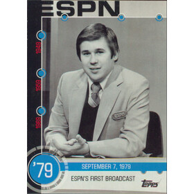 2015 Topps - ESPN's First Broadcast Baseball History #10A
