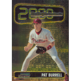 1999 Bowman Chrome - Pat Burrell Rookie of the Year #ROY2