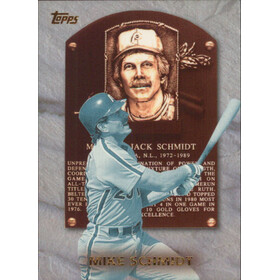 1999 Topps - Mike Schmidt Hall of Fame Collection #HOF1