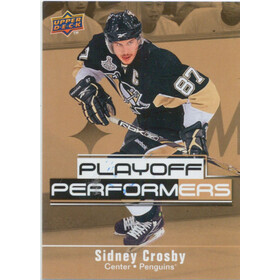 2009-10 UPPER DECK - SIDNEY CROSBY #PP13 PLAYOFF PERFORMERS