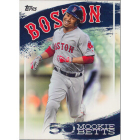 2019 Topps - Mookie Betts Star Player Highlights #MB-7