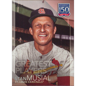 2019 Topps - Stan Musial 150 Years of Professional Baseball Greatest Players #GP-11