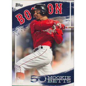 2019 Topps - Mookie Betts Star Player Highlights #MB-22