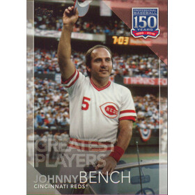 2019 Topps - Johnny Bench 150 Years of Professional Baseball Greatest Players #GP-4