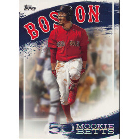 2019 Topps - Mookie Betts Star Player Highlights #MB-16