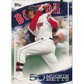 2019 Topps - Mookie Betts Star Player Highlights #MB-6