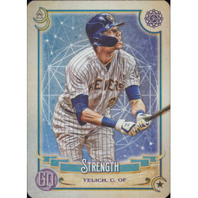 2020 Gypsy Queen - Christian Yelich Tarot of the Diamond #TOD10