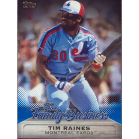 2019 Topps Update - Tim Raines The Family Business #FB-12