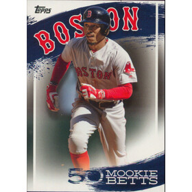 2019 Topps - Mookie Betts Star Player Highlights #MB-28