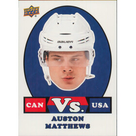 2017-18 TEAM CANADA - AUSTON MATTHEWS #VS-1 VERSUS