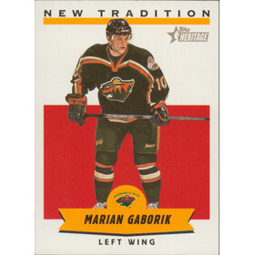 1999-00 HERITAGE - MARIAN GABORIK #NT10 NEW TRADITION