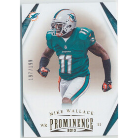 2013 Prominence - Mike Wallace Gold #53 197/199