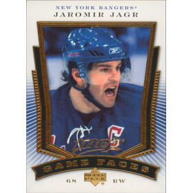2007-08 MVP - JAROMIR JAGR #GF2 GAME FACE
