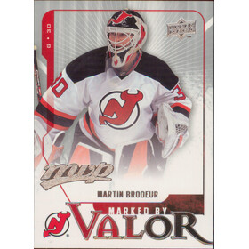 2008-09 MVP - MARTIN BRODEUR #MV1 MARKED BY VALOR
