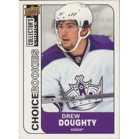 2008-09 COLLECTOR'S CHOICE - DREW DOUGHTY #209 ROOKIES