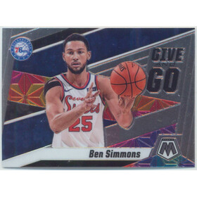 2019-20 Mosaic - Ben Simmons Give and Go #2
