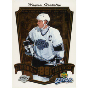 2005-06 MVP - WAYNE GRETZKY #TG5 TRIBUTE TO GREATNESS