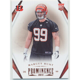 2013 Prominence - Margus Hunt RC #163