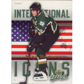 2006-07 MVP - MIKE MODANO #II7 INTERNATIONAL ICONS