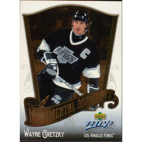 2005-06 MVP - WAYNE GRETZKY #MM1 MONUMENTAL MOMENTS