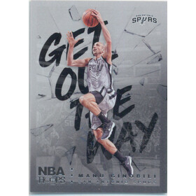2018-19 Hoops - Manu Ginobili Get Out the Way #GOW-17