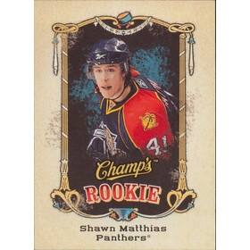 2008-09 CHAMP'S - SHAWN MATTHIAS #125 ROOKIE