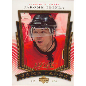 2007-08 MVP - JAROME IGINLA #GF3 GAME FACE