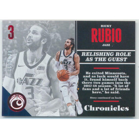 2017-18 Chronicles - Ricky Rubio Red #41 271/299