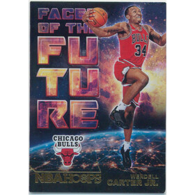 2018-19 Hoops - Wendell Carter Jr. Faces of the Future #7