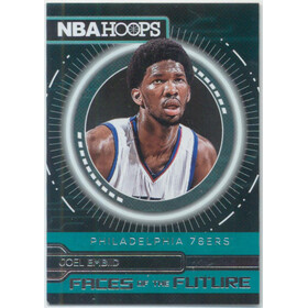 2016-17 Hoops - Joel Embiid Faces of the Future #9