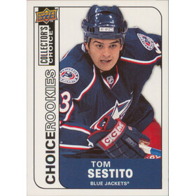 2008-09 COLLECTOR'S CHOICE - TOM SESTITO #241 ROOKIES