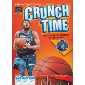 2019-20 Donruss - Karl-Anthony Towns Crunch Time #19