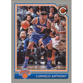 2016-17 Complete - Carmelo Anthony Silver #150