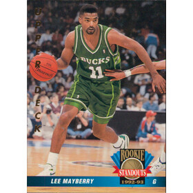1992-93 Upper Deck - Lee Mayberry Rookie Standouts #RS12