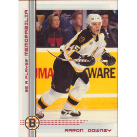 2000-01 BE A PLAYER MEMORABILIA - AARON DOWNEY #230 RUBY 162/200