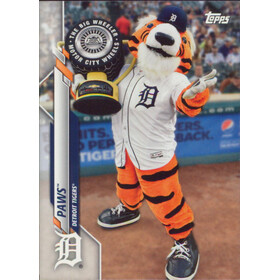 2020 Topps Opening Day - Paws Mascots #M-6