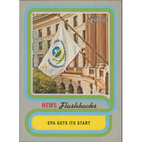 2019 Topps Heritage - Establishment of EPA News Flashbacks #NF-8