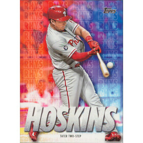 2020 Topps - Rhys Hoskins Tater Two-Step Highlights #RH-5