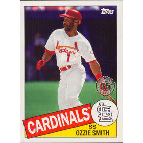 2020 Topps - Ozzie Smith 1985 Topps 35th Anniversary #85-91