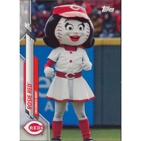2020 Topps Opening Day - Rosie Red Mascots #M-10