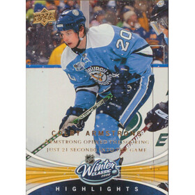 2008-09 UPPER DECK - COLBY ARMSTRONG #WC3 WINTER CLASSIC