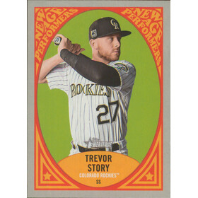 2019 Topps Heritage - Trevor Story New Age Performers #NAP-23