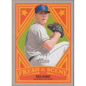 2019 Topps Heritage Minor League - Kris Bubic Fresh on the Scene #FOS-8