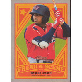 2019 Topps Heritage Minor League - Wander Franco Fresh on the Scene #FOS-1